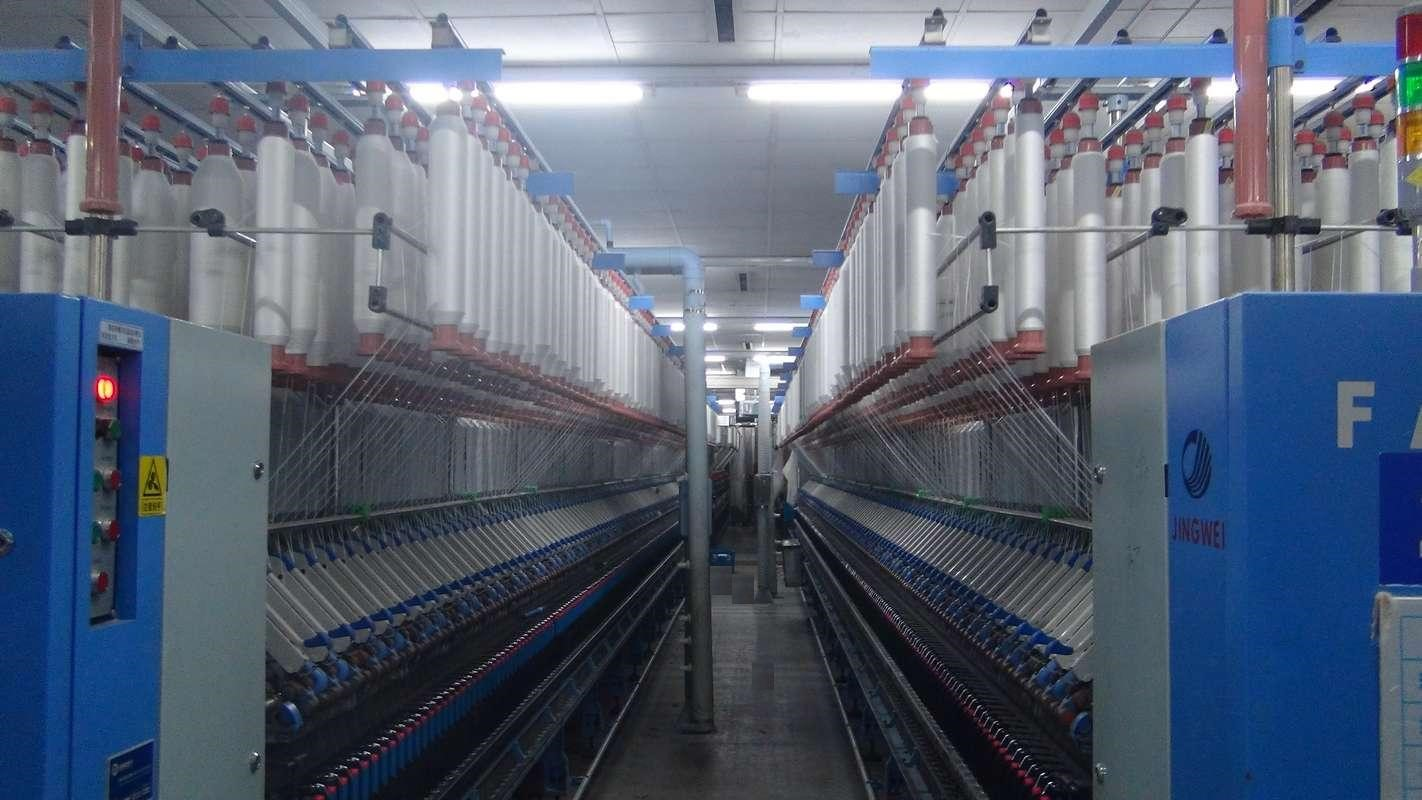 Application Case of AC80C in Spinning Frame