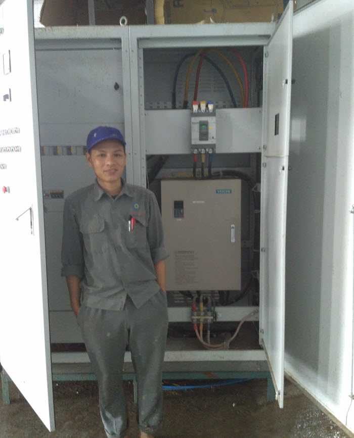 application of VEICHI AC70 inverter in Vietnam