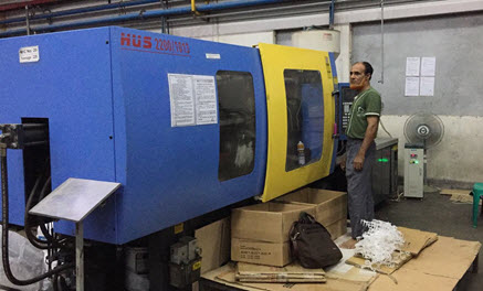 Successful Application of SF81 on Injection Molding Machine in Bangladesh