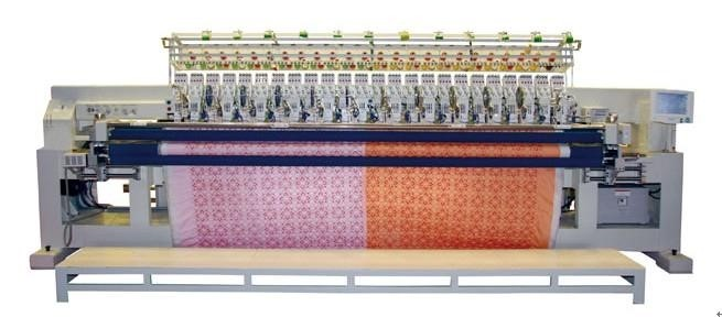 Application of VEICHI AC80C in Computerized Embroidery (Quilting) Machine