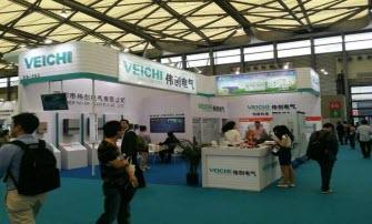Veichi Solar PV Inverter Sparkles on the SNEC 2015 Shanghai