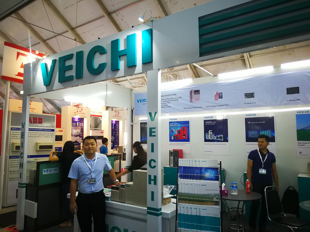 VEICHI ELECTRIC Sparkles on Myanmar Exhibition 2017