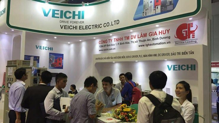 Veichi Electric Participates in Vietnam ETE 2016 in Ho Chi Minh City