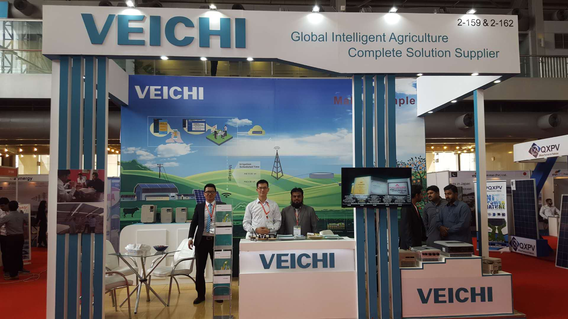 VEICHI attended the exhibition of Solar Pakistan 2018  in Lahore, Pakistan