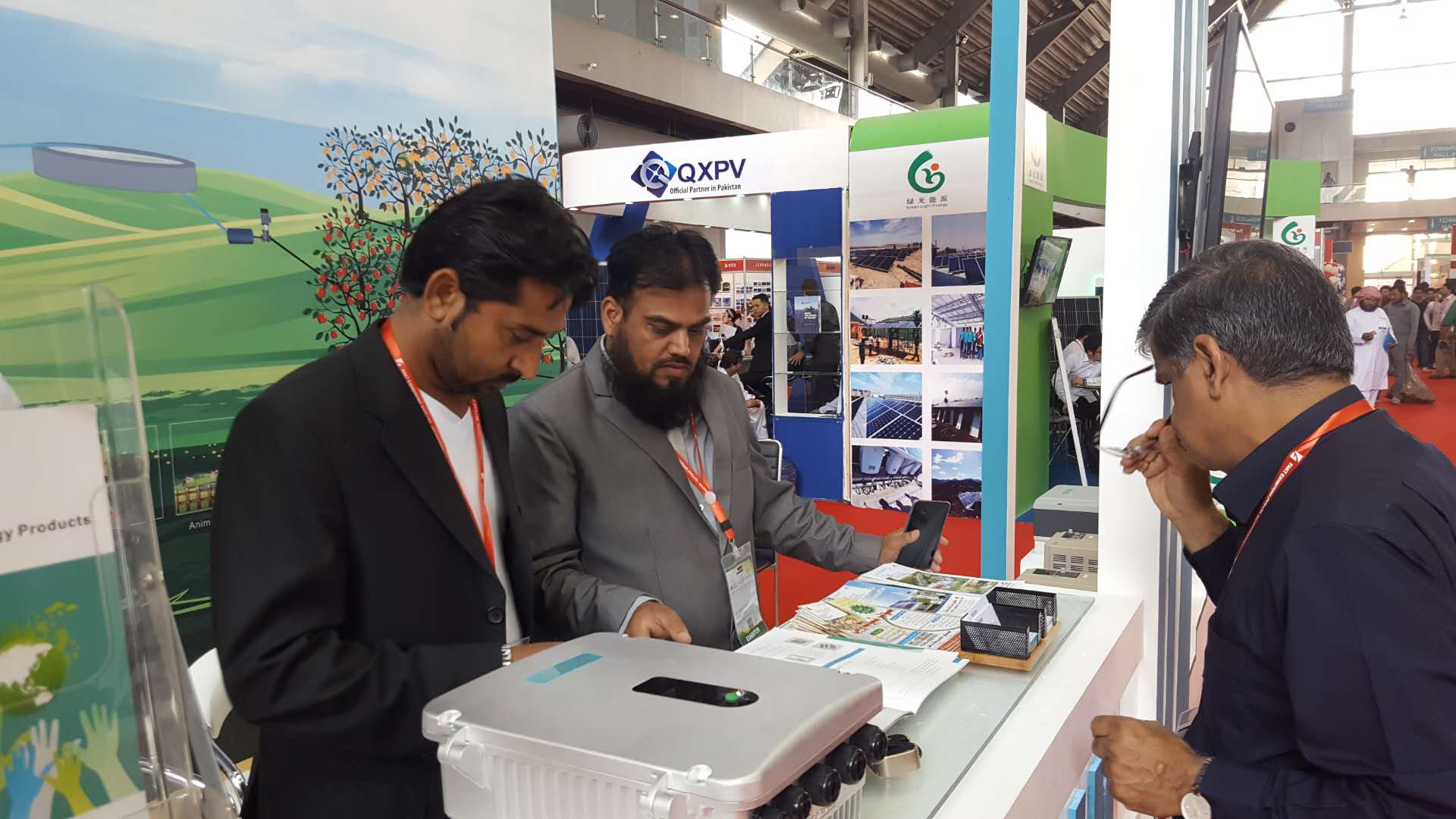 The event focused on Photovoltaic, smart energy solutions and technology, energy storage systems & renewable heating.