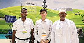 VEICHI Attended the 2018 Dubai Solar Show with Star Products