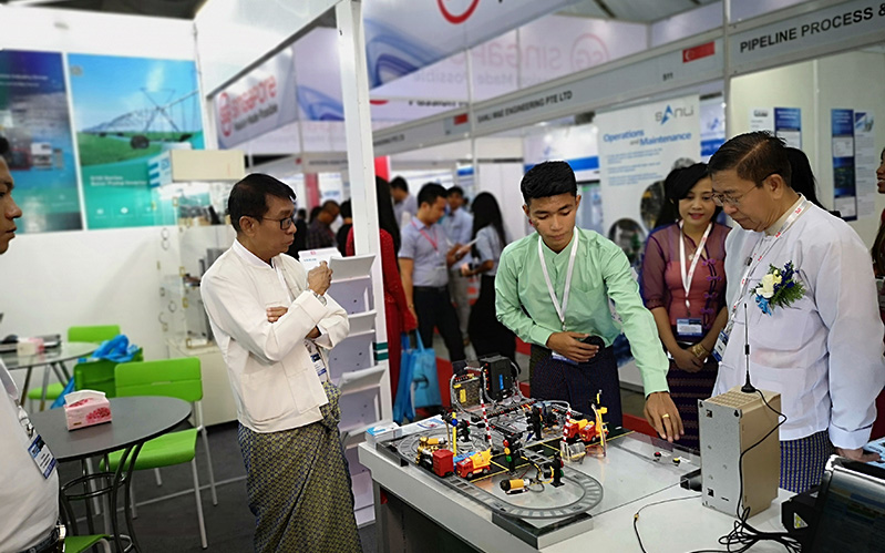 2018 Myanmar Power Show of VEICHI Ended Successfully-VEICHI ELECTRIC