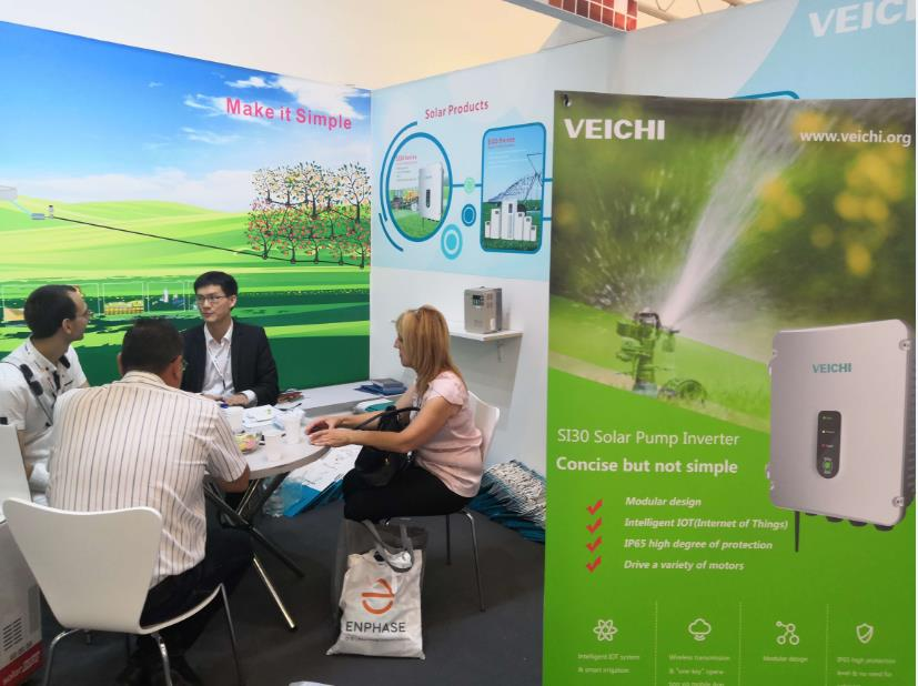 VEICHI on Intersolar Europe 2018 Exhibition in Munich, Germany