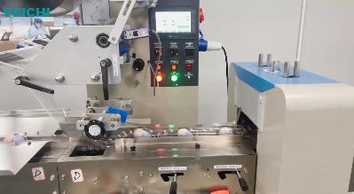 VEICHI SD700 servo system using on packaging machine