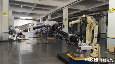 SD700 Servo System using on Industrial Robot
