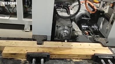 SD700 Servo System using on the Woodworking Vertical Drilling and Milling Machine