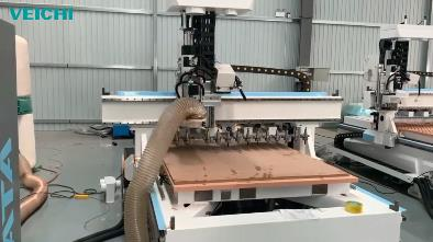 VEICHI SD710 Servo System using on Woodworking engraving Machine