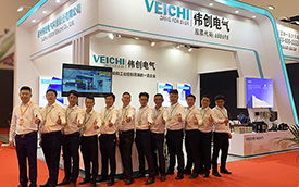 VEICHI participated in the Fujian Footwear (Sports) Expo with a variety of industry products