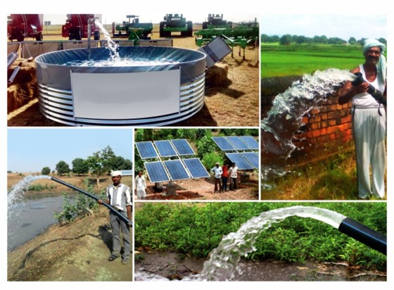 Application cases of solar pump system